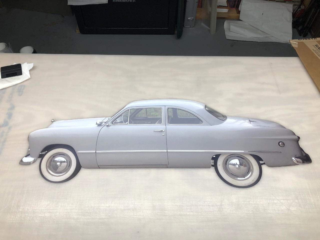 Wall Mount Custm Car Sign