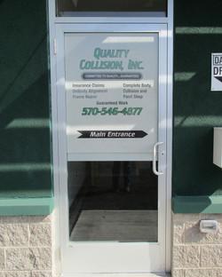 QC Door Scape - Full Door Photo