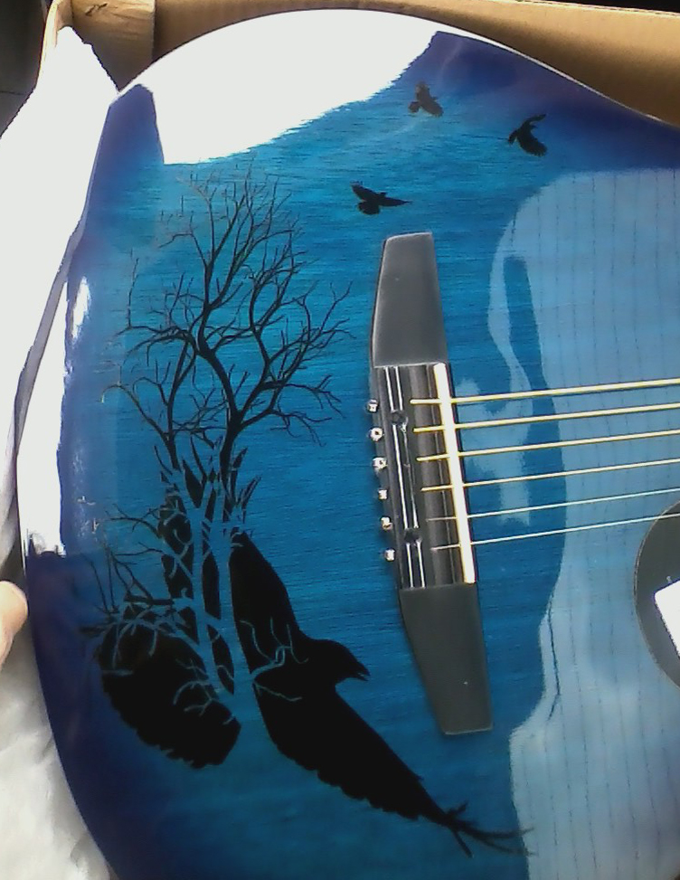 Custom Guitar Decal