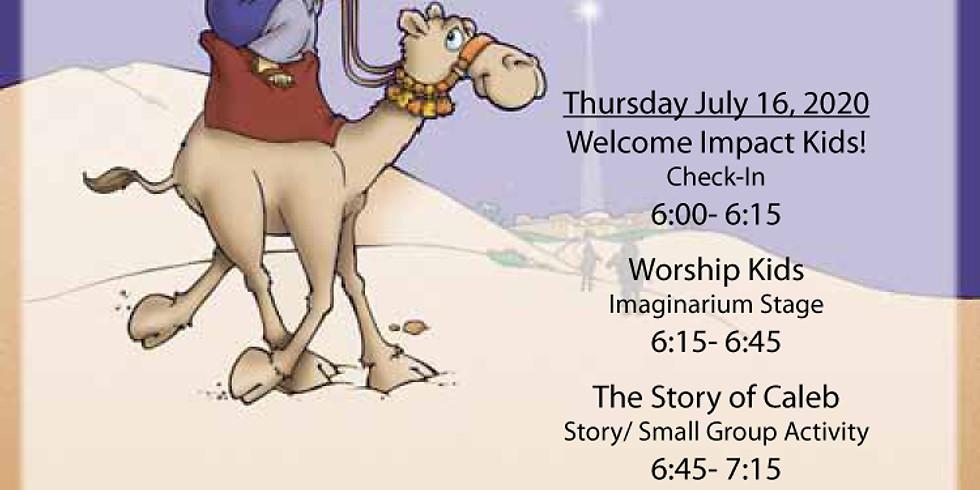 Vacation Bible School Thursday Night