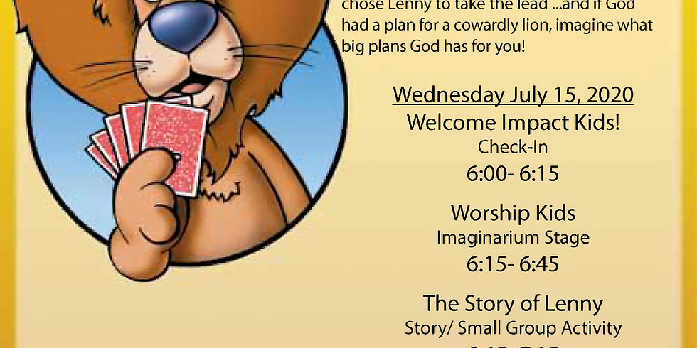 Vacation Bible School Wednesday Night