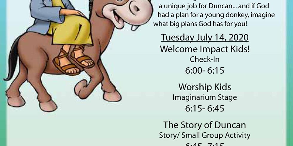 Vacation Bible School Tuesday Night
