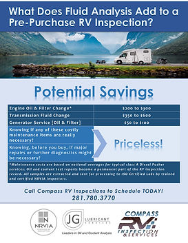 Potential Savings of Fluid Analysis - Co