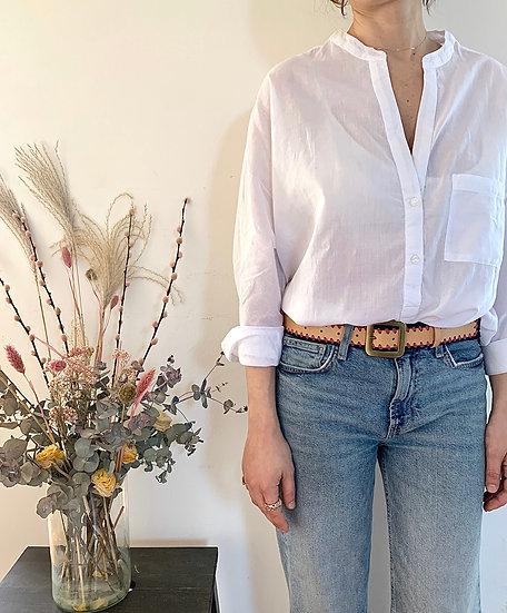 Camicia coreana - White