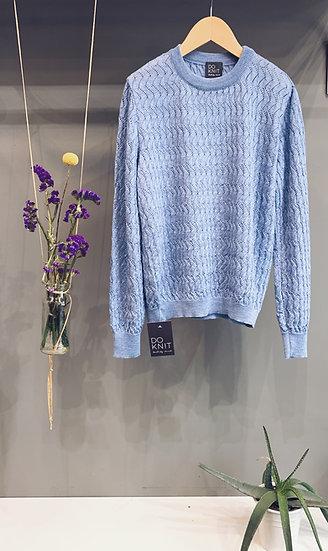 Lace Pull - Azzurro