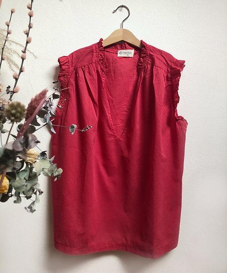 Camicia Frill - Tango Red