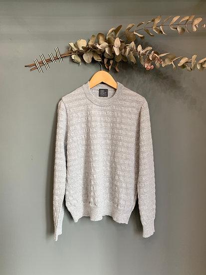 maglioncino grigio perla 100% lana made in italy