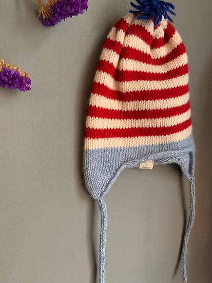 Righe baby hat 1/2 anni