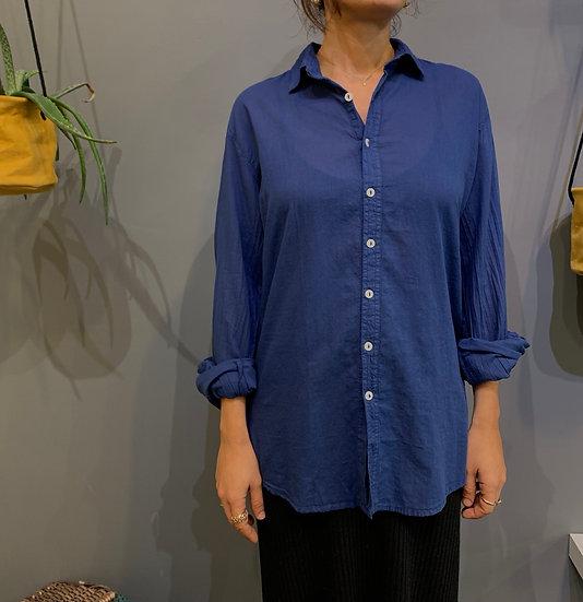 Camicia taglio maschile - Ultramarine