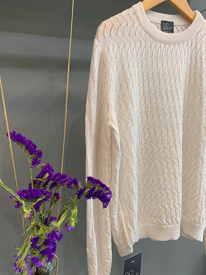 Lace Pull - Off White