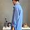 Thumbnail: Camicia taglio maschile - English Blu