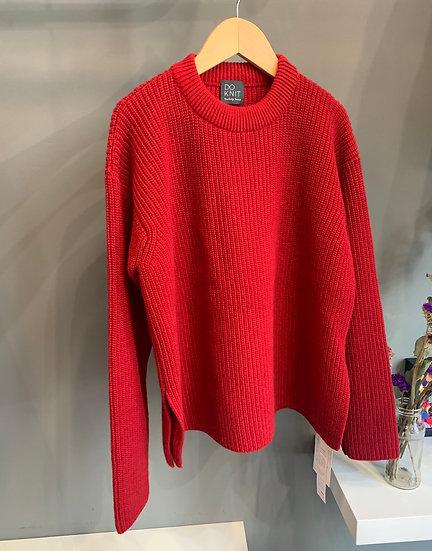Maglione Pannocchia - Rosso