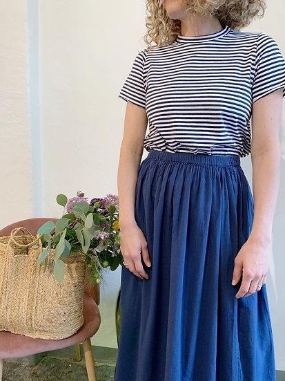 Flax Skirt - ultramarine