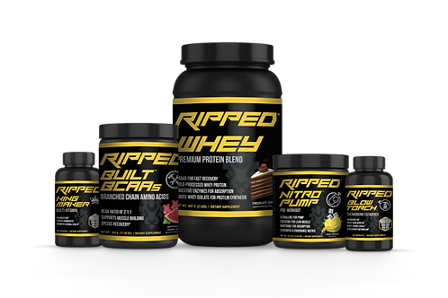 RIPPED® Gym Bag Supply Stack