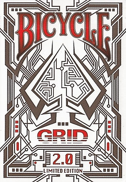 Bicycle Grid 2.0 - Red