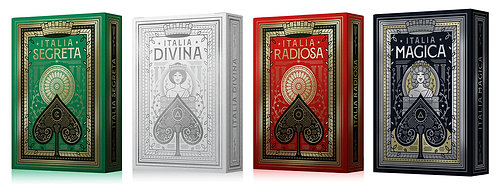 Italia Series - 4 Deck Set