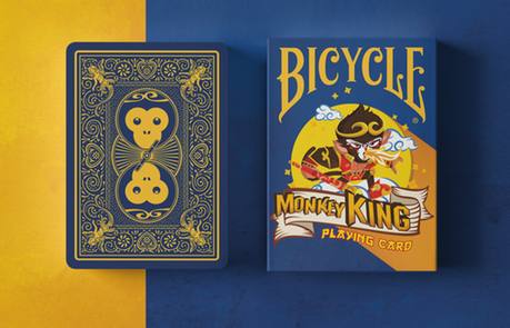 Bicycle Monkey King - Gilded Edition