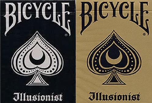 Bicycle Illusionist - 2 Deck Set