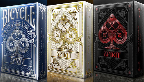 Bicycle Spirit - 3 Deck Set