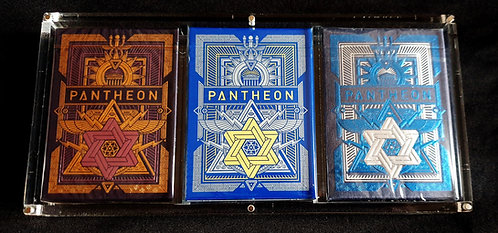 Pantheon - 3 Deck Set + Carat Case