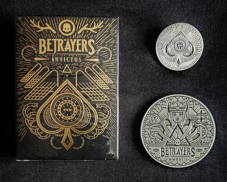 Betrayers Invictus - Pin & Coin Set