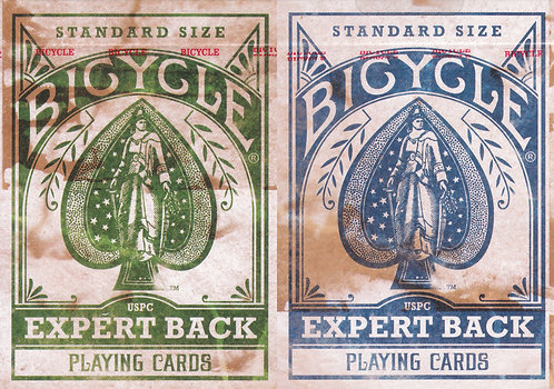 Bicycle Expert Back - 2 Deck Set