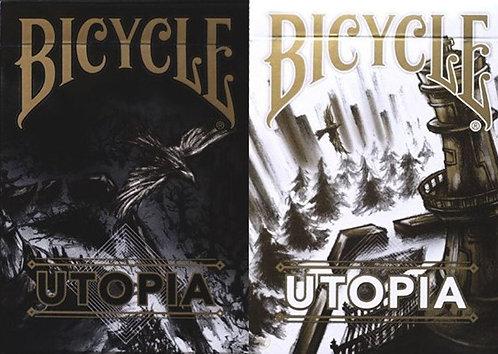 Bicycle Utopia - 2 Deck Set