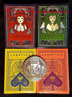 Lunatica - 4 Deck Set + Coin