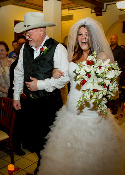 #64 who gives this bride?