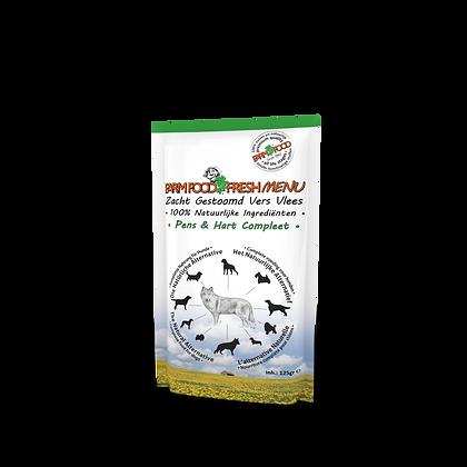 'Farm Food' Fresh menu pens& hart (gestoomd)