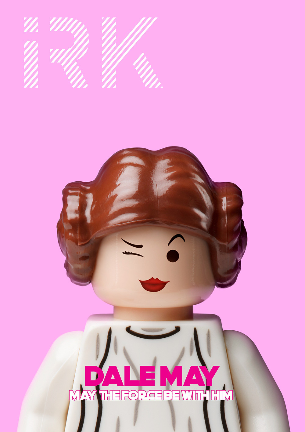 "Princess  Leia,Photographic  Print  mounted  in  Acrylic  &  Aluminum  Dibond,  42""x42"""