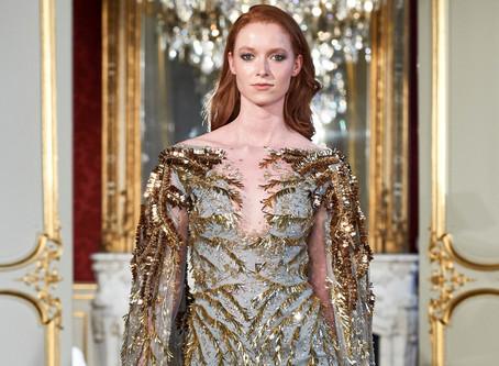 """Steven Khalil """"Woman in Flowers"""" Paris Fashion Week"""