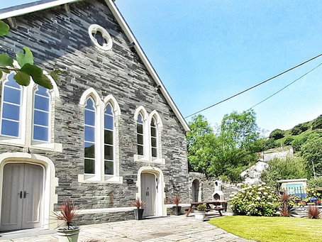 Win a converted chapel in Snowdonia National Park, North Wales