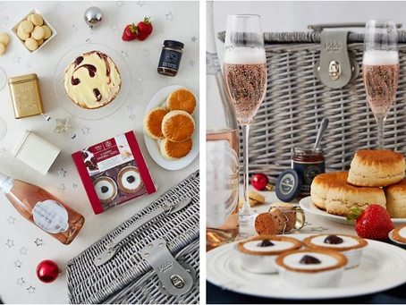 Win a Marks and Spencer Tea in Mayfair Christmas hamper