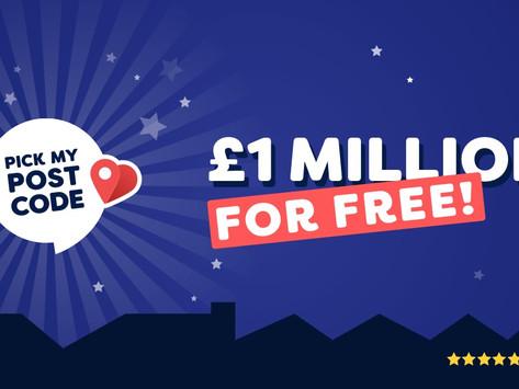 Pick My Postcode, free daily lottery