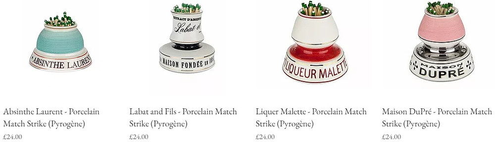 French match strikes from Maison Cherie