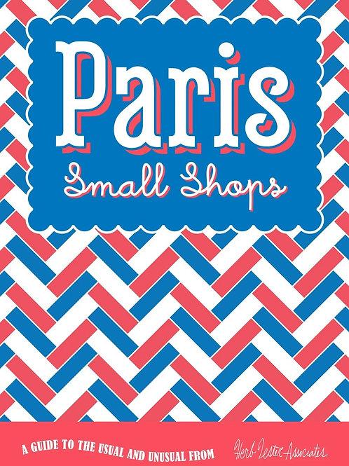 Paris small shops