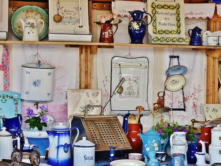 French brocantes are fabulous!