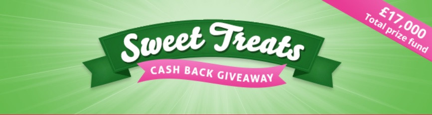 TopCashback, Sweet Treats Cashback Giveaway 2021
