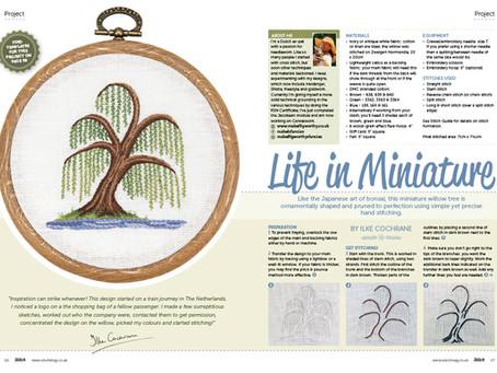 Magazine spread for consumer magazine Stitch