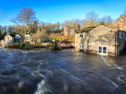 Blog post for property company regarding the process of repairing a property after a flood