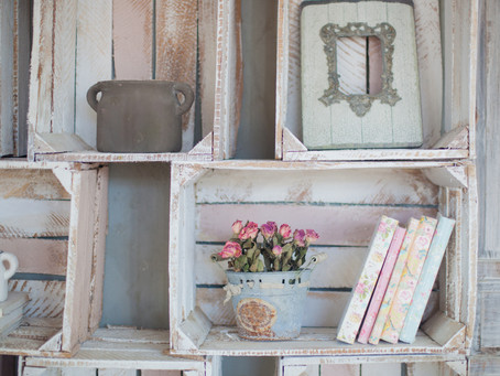 Shabby chic, how to get the look in your home