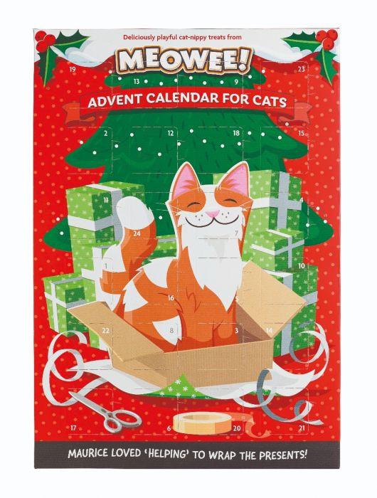 Meowee! advent calendar for cats