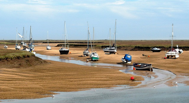 Wells-next-the-Sea harbour, Norfolk