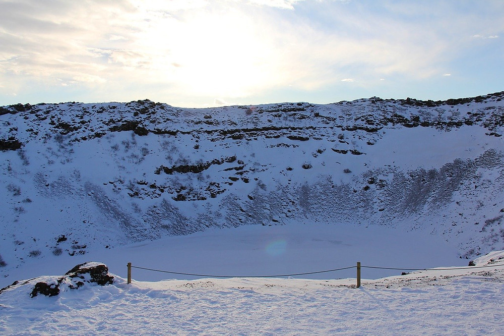 Kerið Crater in Iceland
