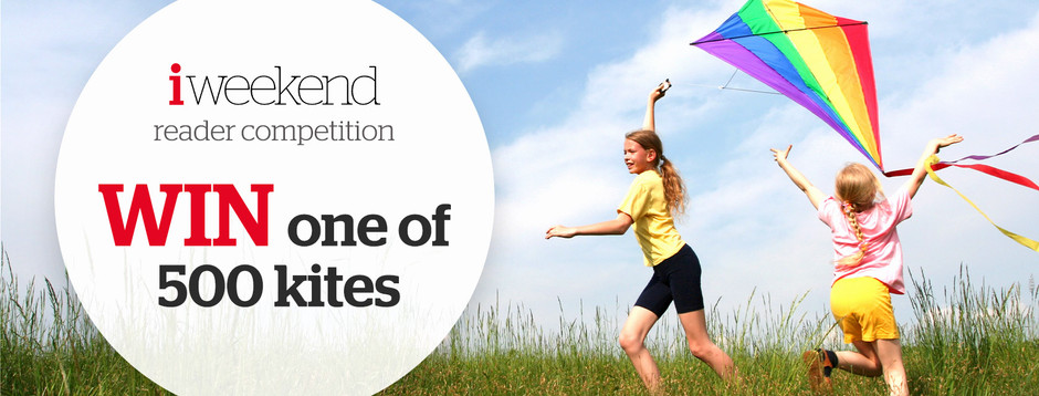 Win one of 500 kites worth £12.99