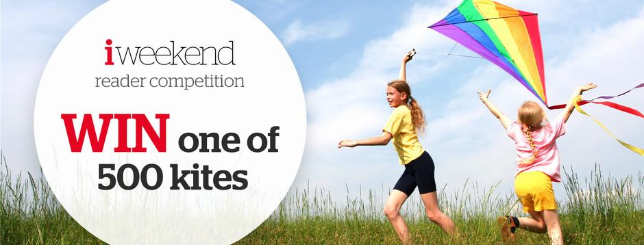 Win one of 500 kites worth £12.99