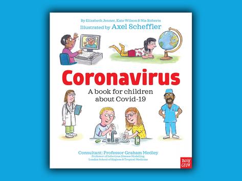 Free book for children explaining Coronavirus, Covid-19