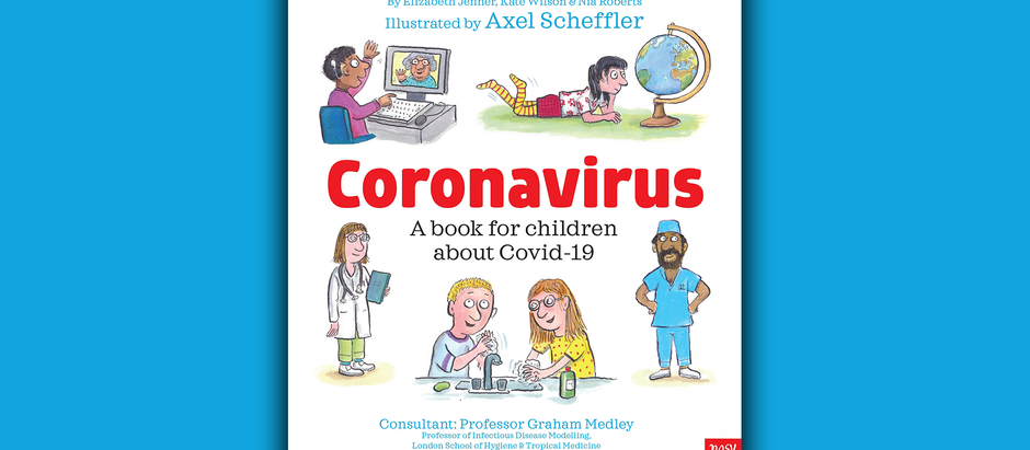 Free book for children explaining Coronavirus, Covid-19
