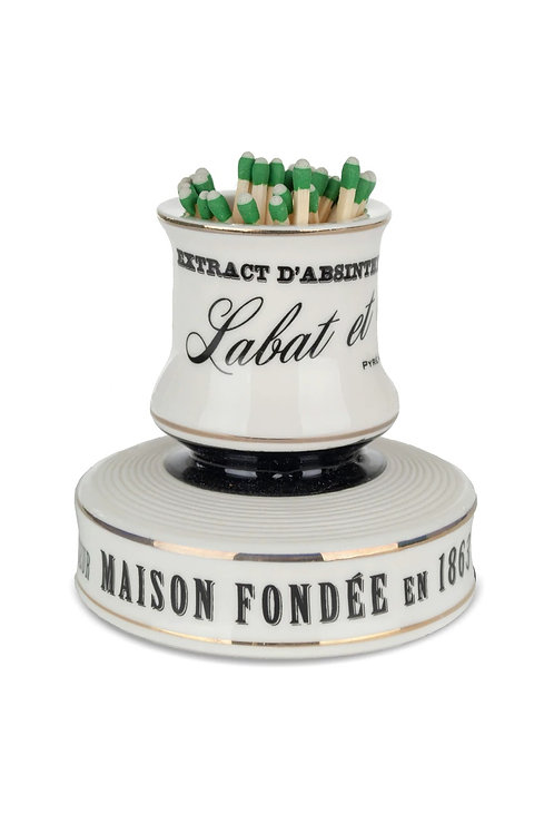 Labat and Fils - Porcelain Match Strike (Pyrogène)